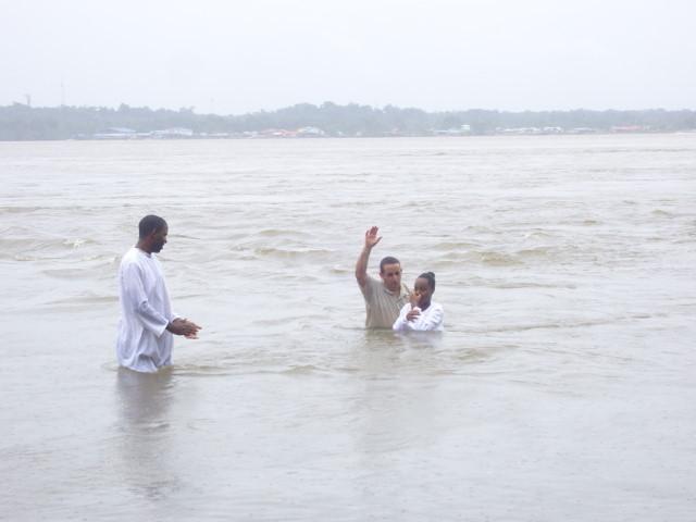 Baptême Anne