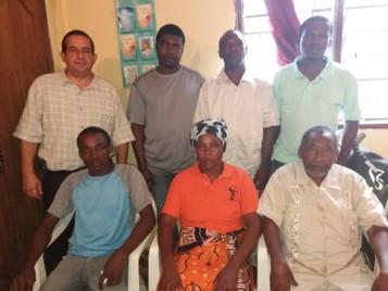 Etudiants de l'Institut Biblique