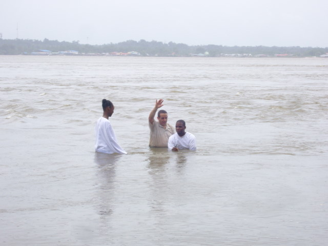 Baptême Olivier