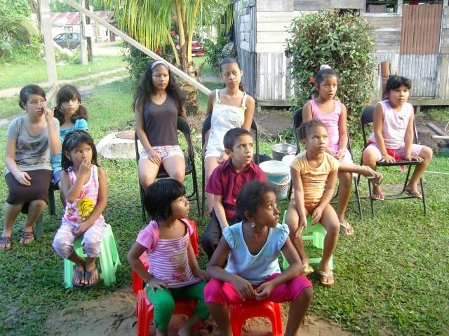Escuelitas biblicas en Paddock (Agosto 2009)