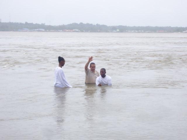 Olivier's Baptism