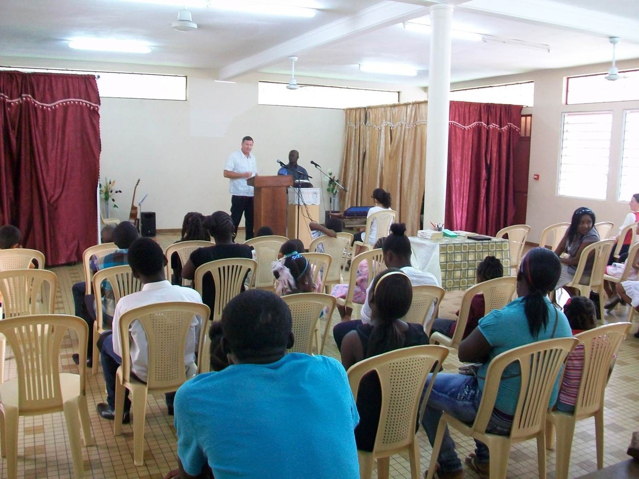 Missionnaire Ethan Champlin