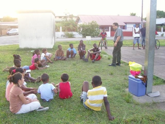 1° Activité dans un parc (Juillet 2008)