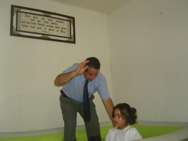 Vanessa baptism