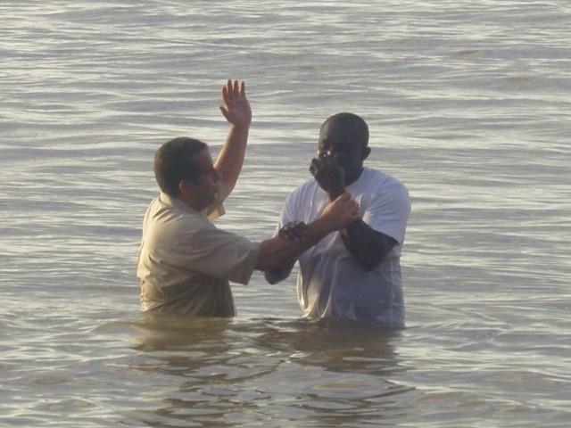 Frederic's baptism (November 2009)