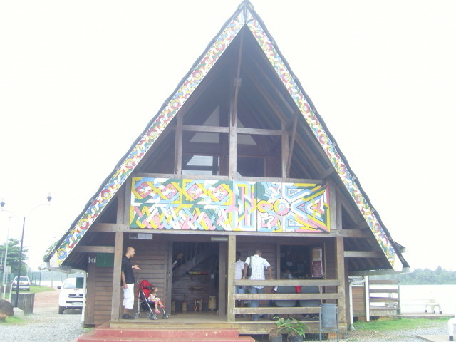 Evangelización a la ciudad de Apatou