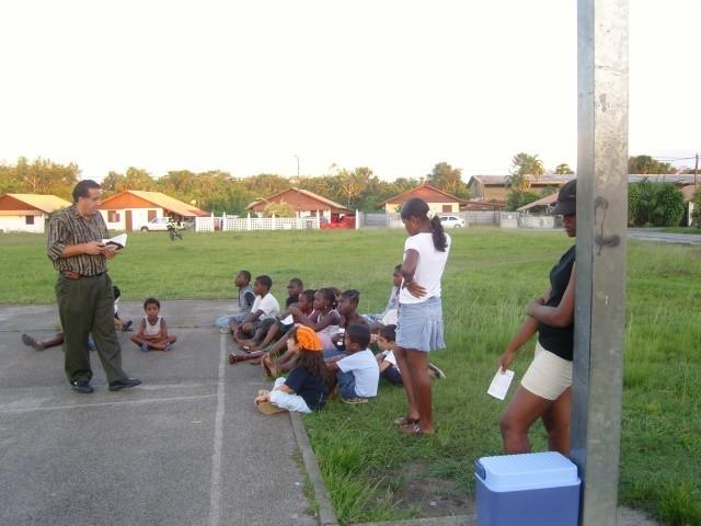 2° Activité dans un parc (Aout 2008)