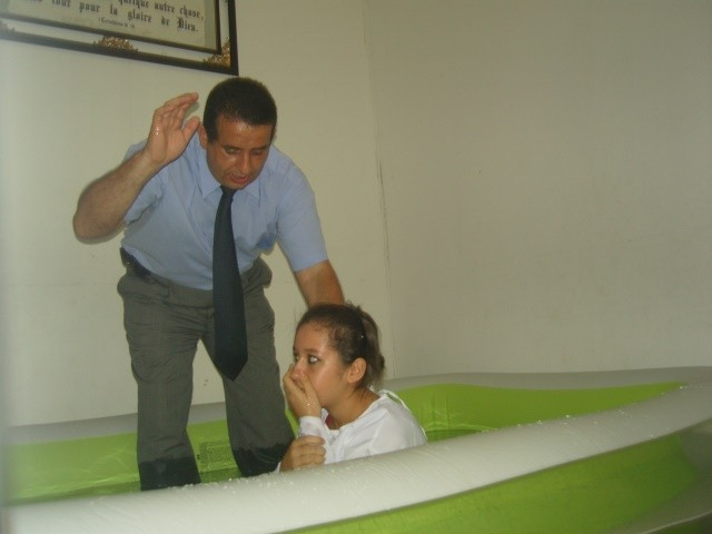 Jenifer baptism