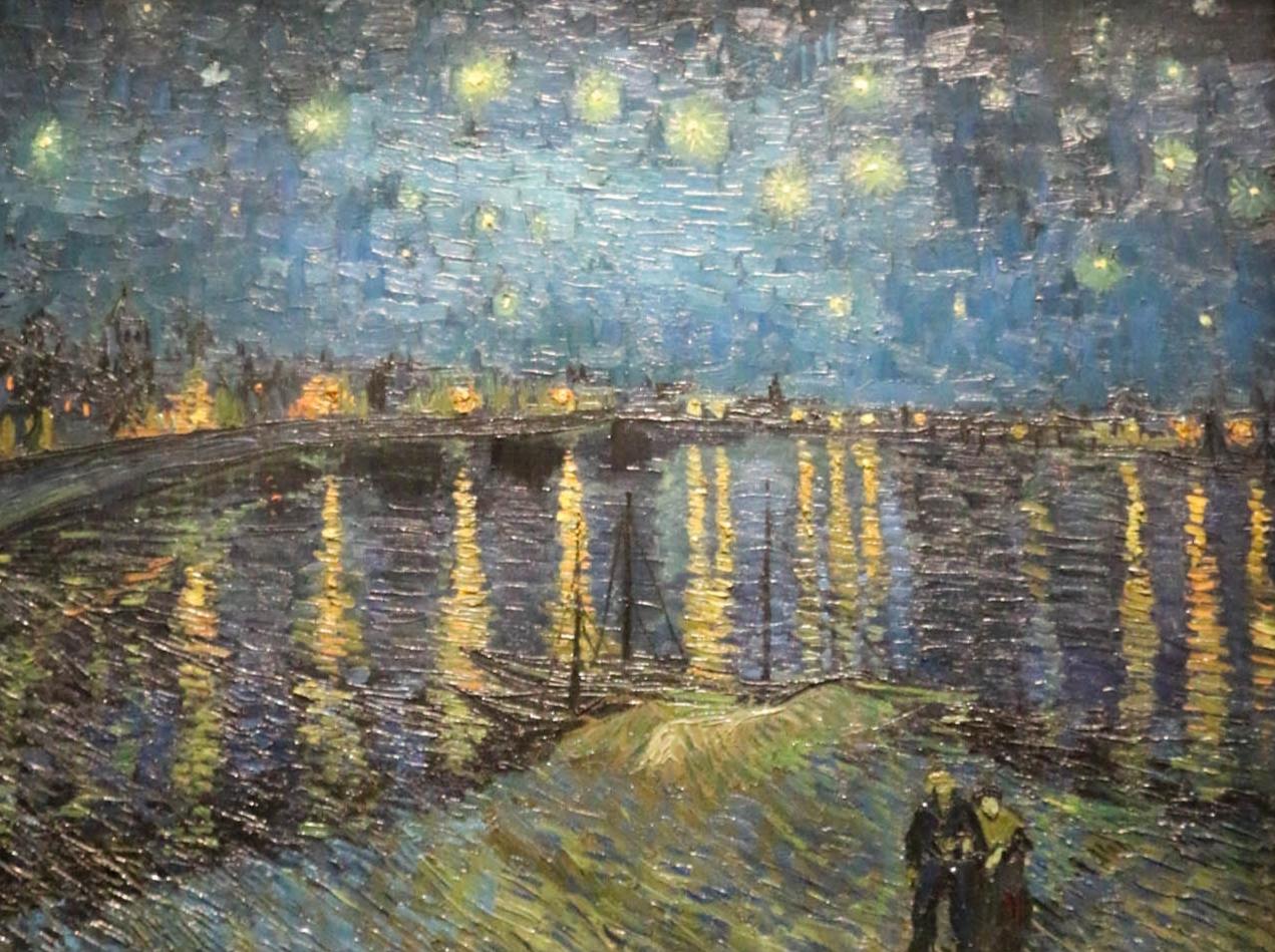 Modeblog by Carmen Schubert Paris Kunst  Van Gogh