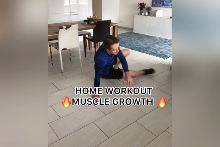 HOME WORKOUT MUSCLE GROWTH