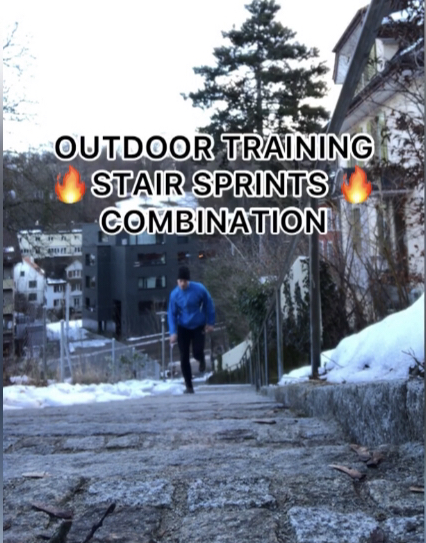 Outdoor Training STAIR SPRINTS COMBINATION