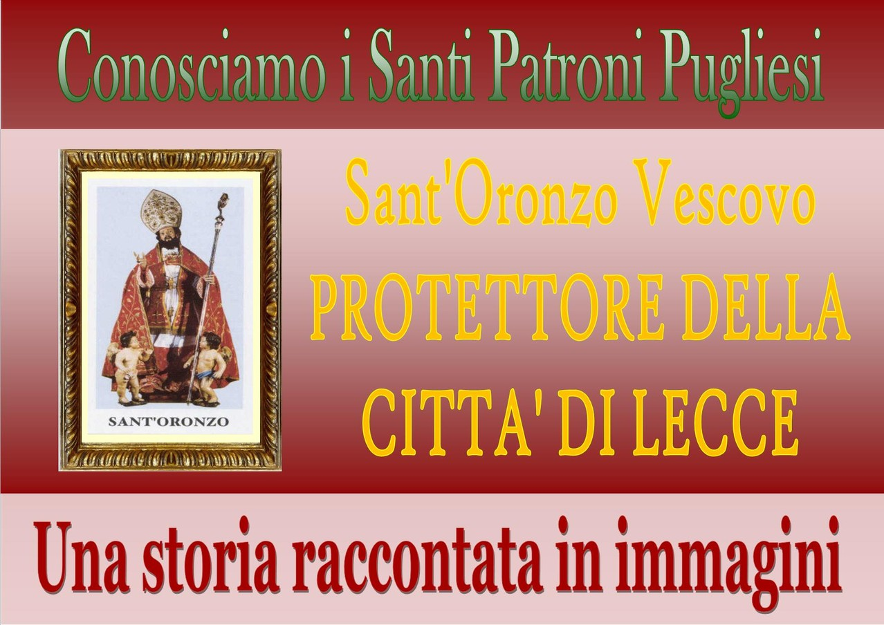 Benvenuti in Santini dei Santi Patroni Pugliesi !!!!