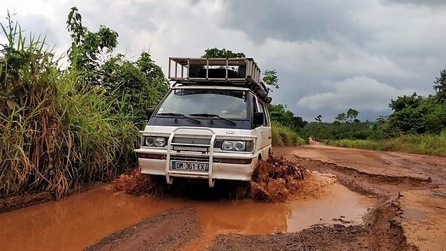 Route côtière en côte d'ivoire