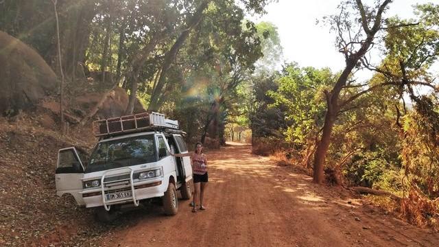 Route en guinée