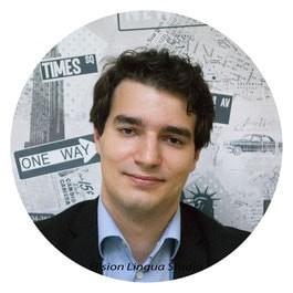 Jeremy репетитор носитель французского языка Москва. Elision Lingua Studio.