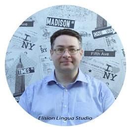 Tom  частный преподаватель носитель английского языка из Великобритании.