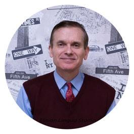 George - опытный преподаватель английского, носитель языка из США