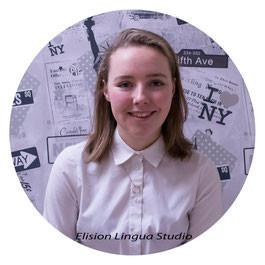 носители английского языка в Москве: Olivia. Elision Lingua Studio.