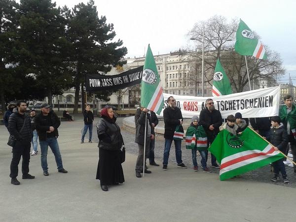 Freiheit für das tschetschenische Volk! Nieder mit Putin und ...
