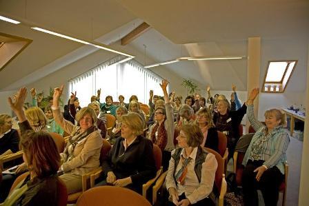 Seniorenbetreuer beim Netzwerktreffen in Kiel