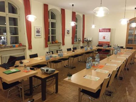 Ausbildung in der Senioren-Assistenz: Seminarraum in Kempen (NRW).