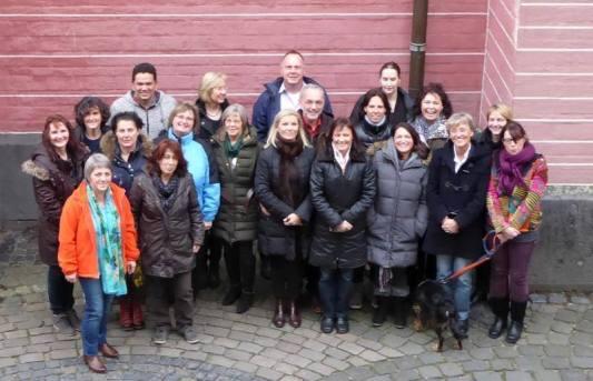 Ausbildung zur Senioren-Assistenz: Gruppenfoto der Teilnehmer in Kempen/NRW.