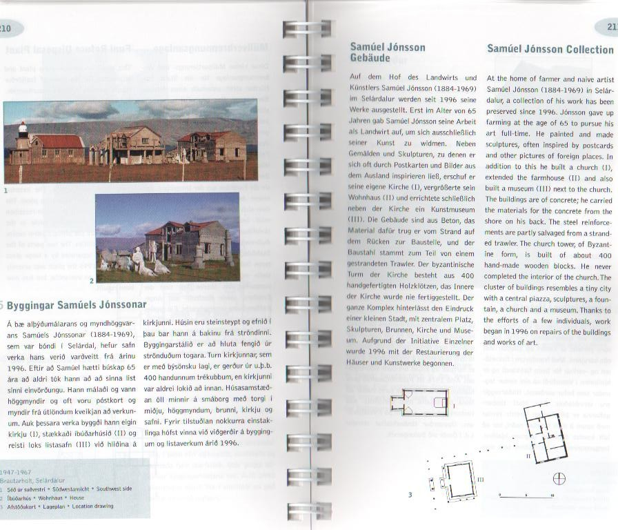 "Article in ""archtectural guide to Iceland"", written by Birgit Abrecht"