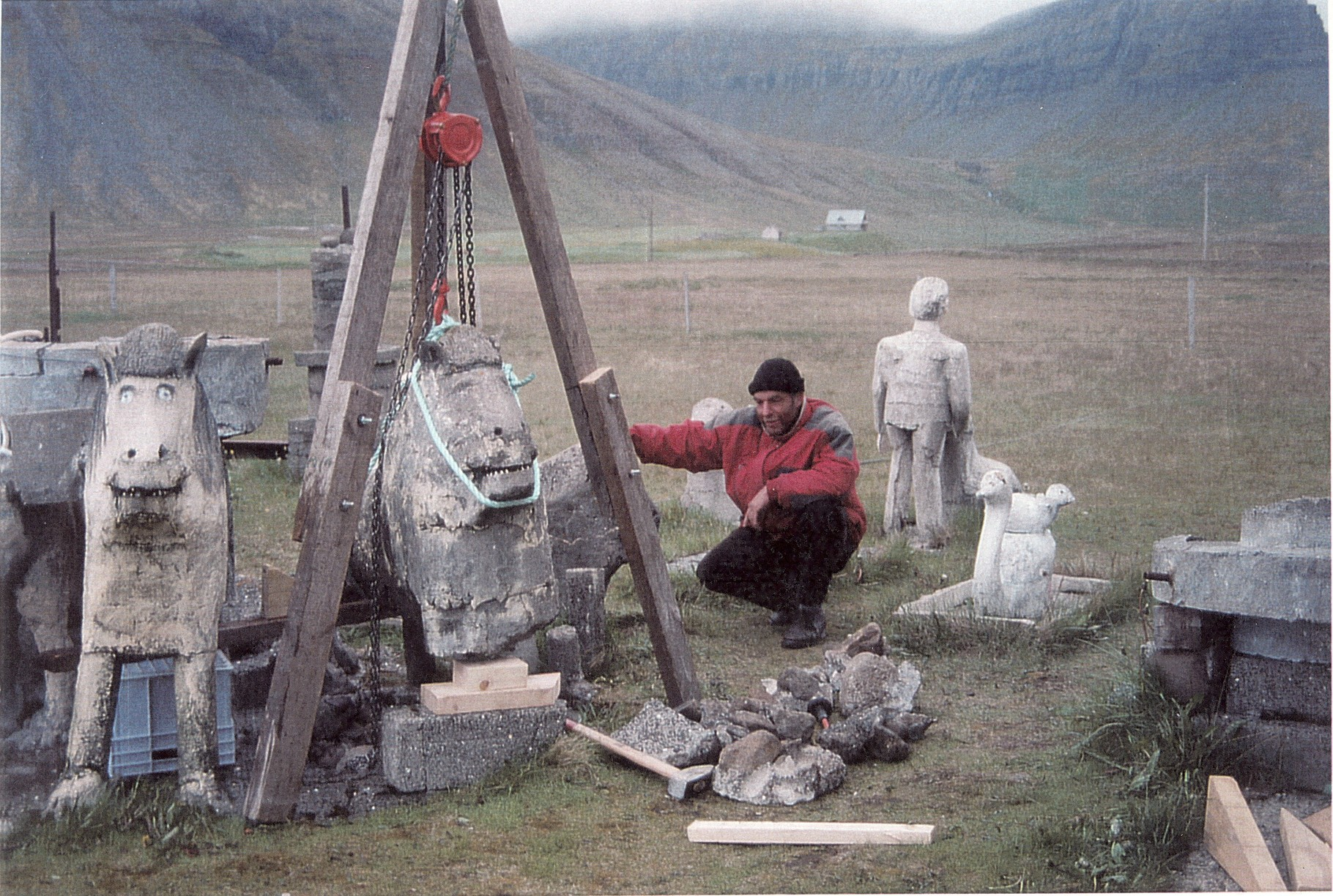 Gerhard König - initiating the restoration project in 1998