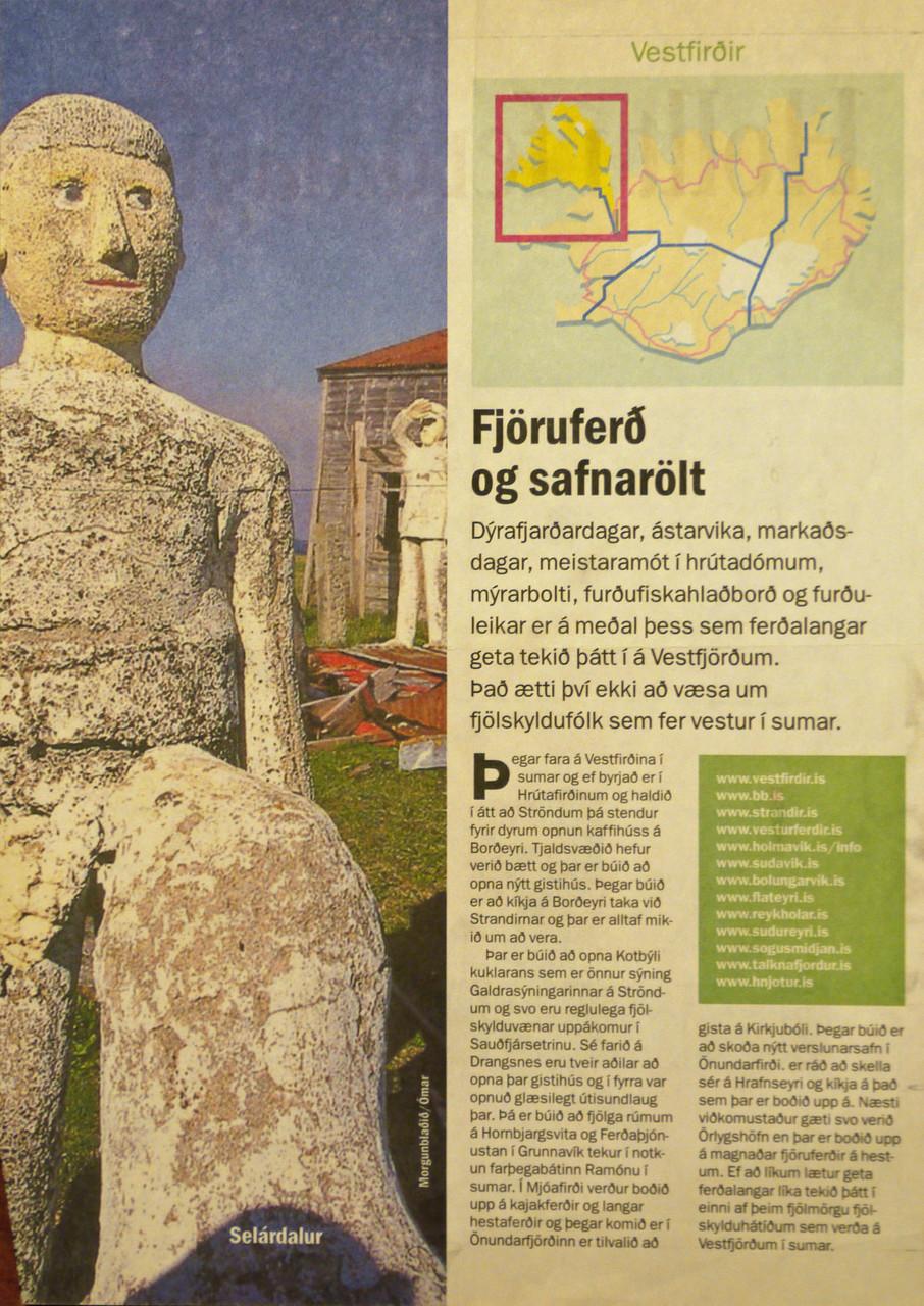 Icelandic magazine