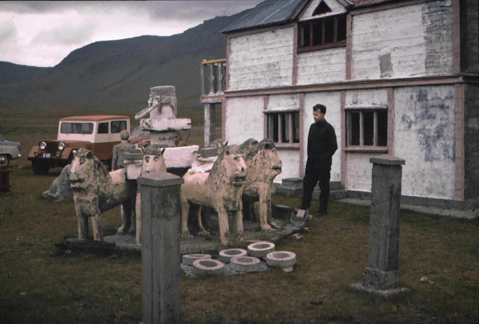 Brautarholt on a sunday afternoon 1967. Photo by Pétur Bjarnason
