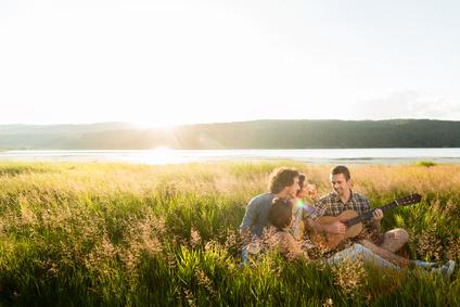 Sommer - Zeit des Zusammenseins und Fülle genießen