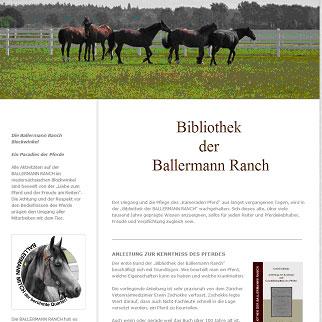 Bibliothek der Ballermann Ranch - 25 Bände zur Pferdewissenschaft aus alter Zeit