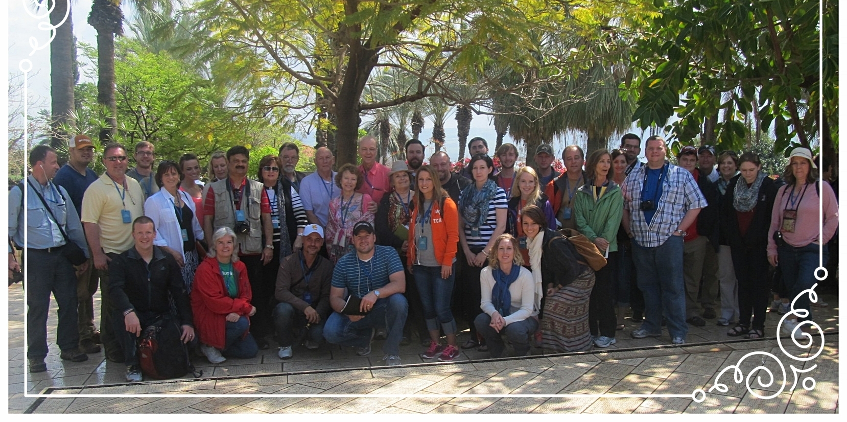 US New Spring Church group in Galilee, 2014