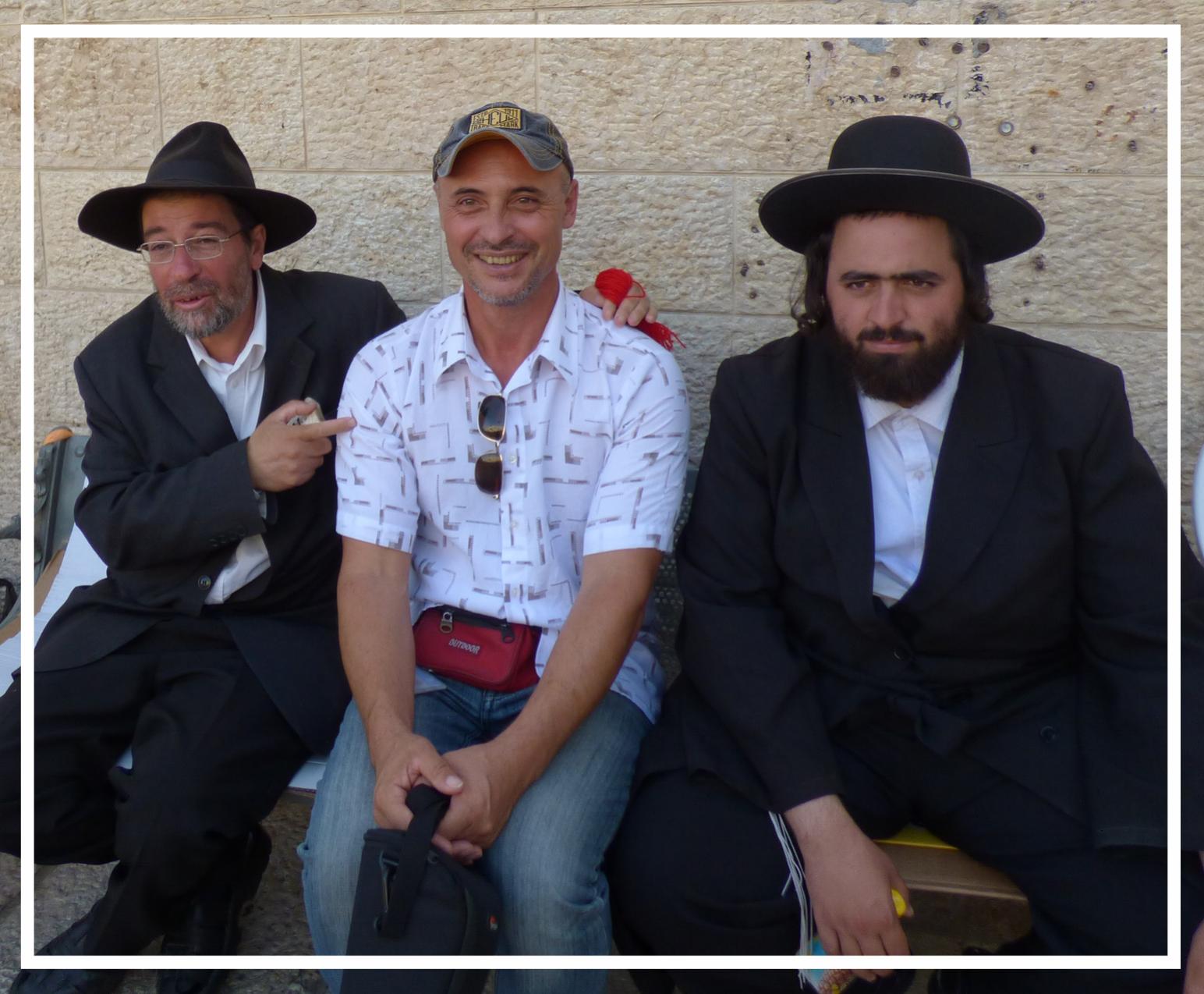 With the Orthodox Jews
