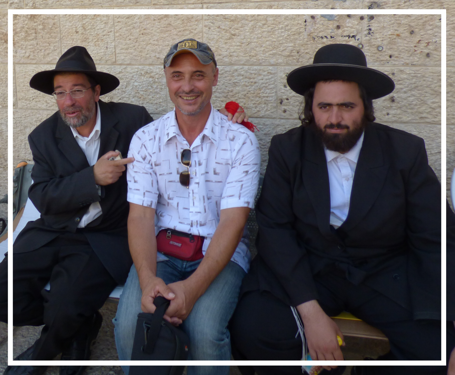 Visiting with the Orthodox Jews in Jerusalem