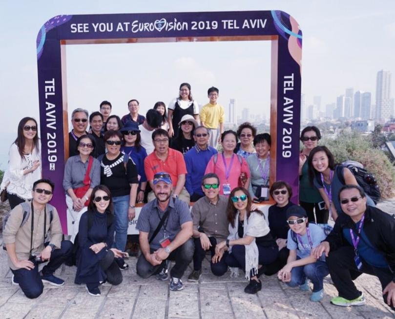 The view of Tel Aviv