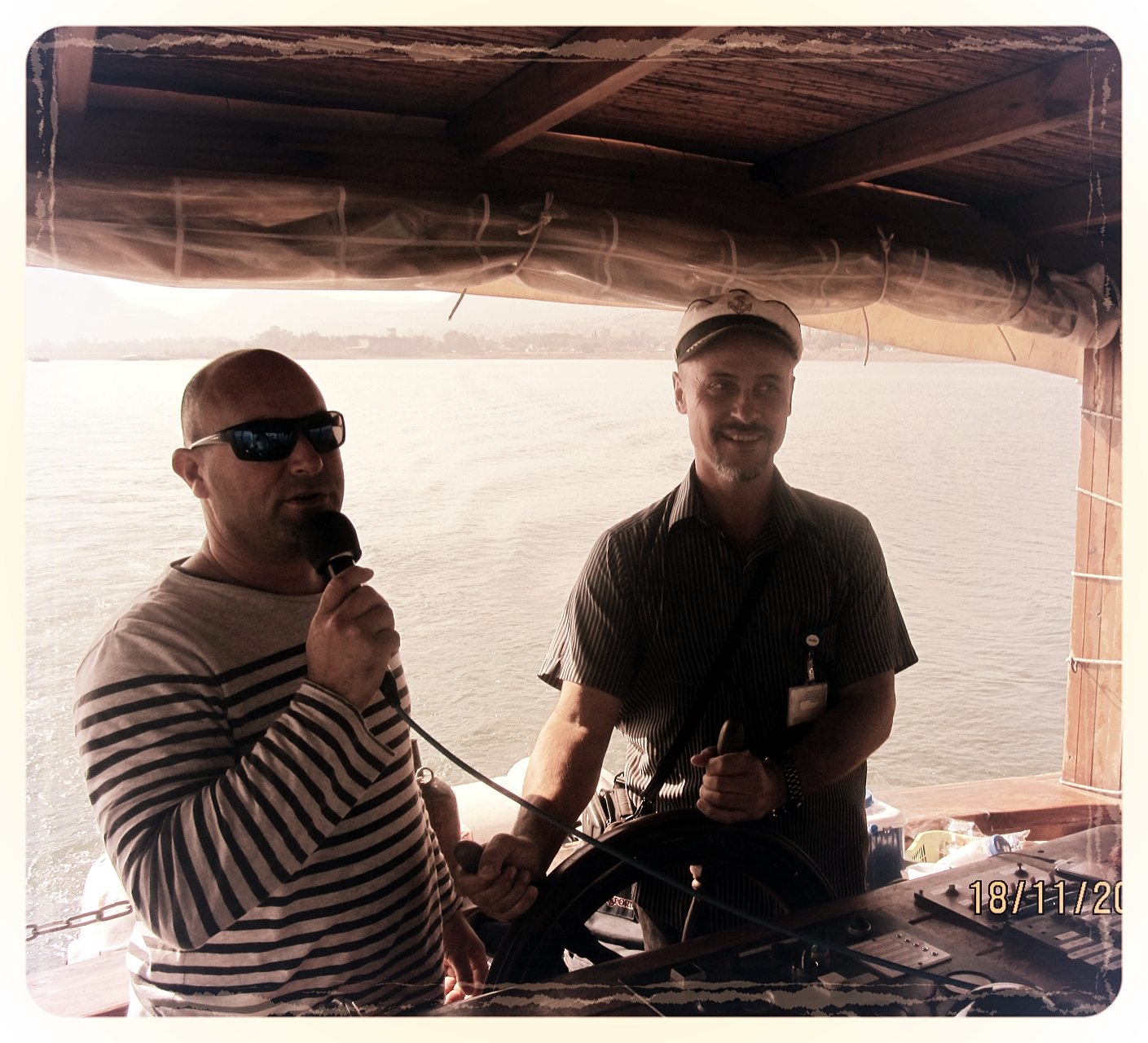Boat ride on the Lake of Galilee, 2015