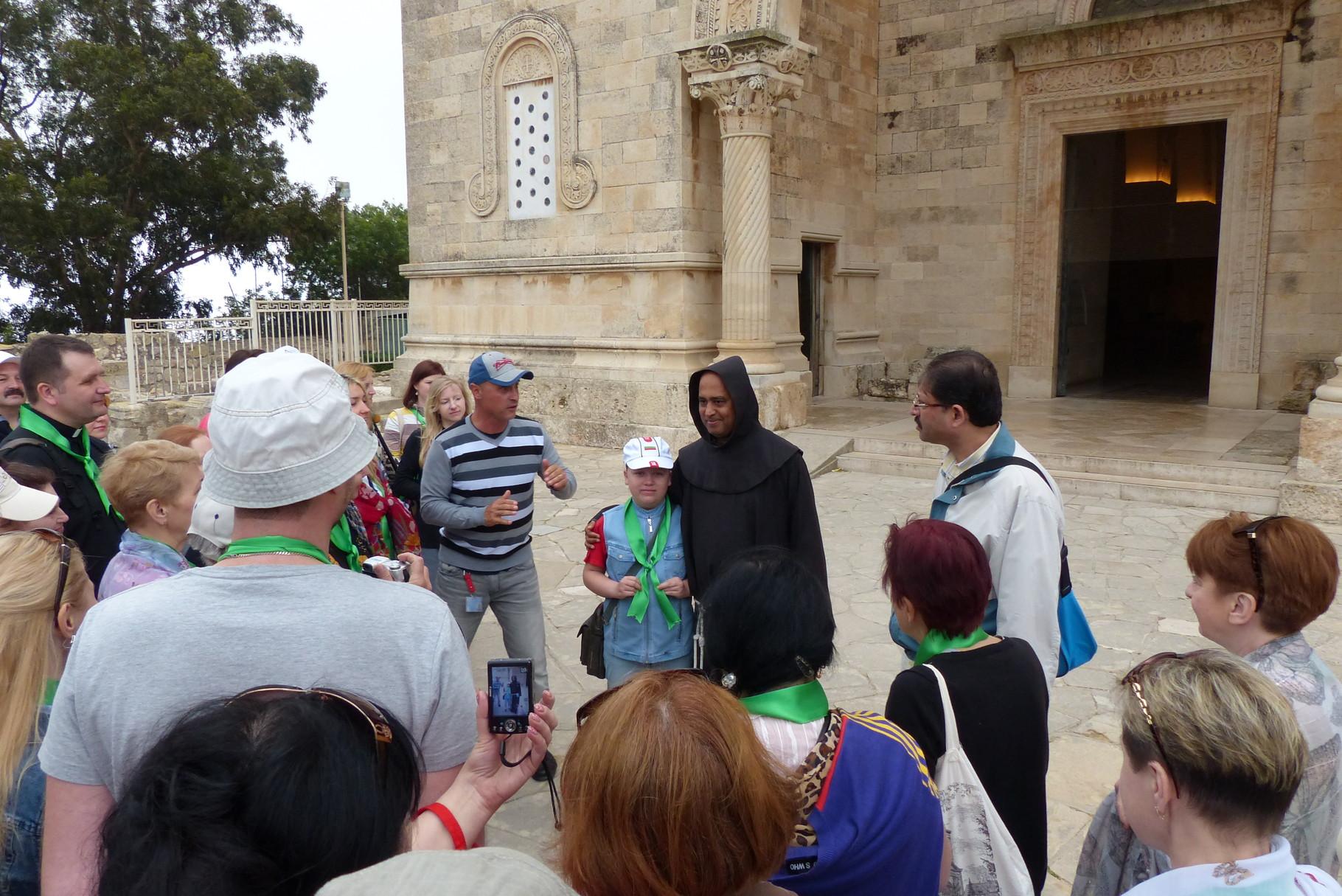 На горе Фавор, церковь Преображения