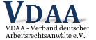 Mitglied im VDAA - Verband deutscher ArbeitsrechtsAnwälte e.V.