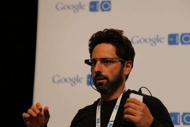 Google Glass 装着イメージ