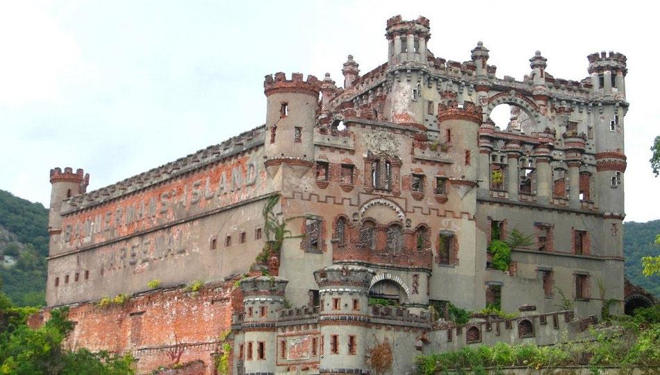 Le château Bannerman État de New York à Glenham