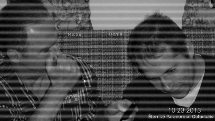 Michel et Denis, fondateur d'Éternité Paranormal