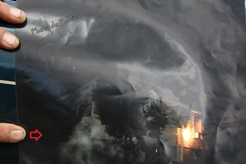 Il photographie une silhouette étrange et qui semble être paranormale