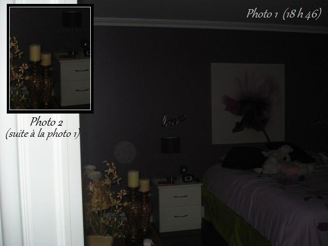 Un orbe dans la chambre de la petite