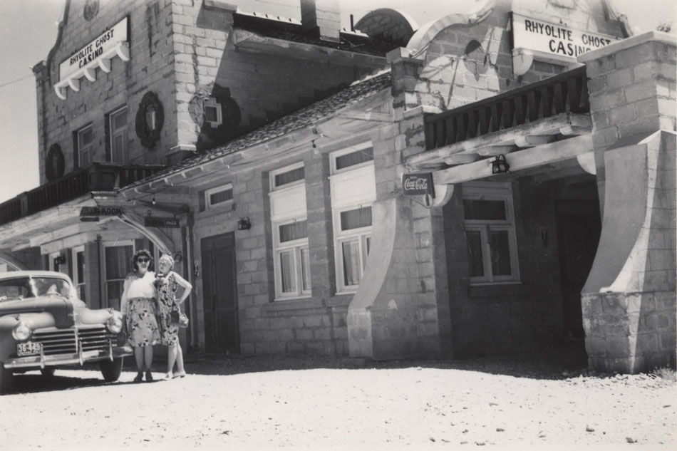 L'ancien casino de Rhyolite