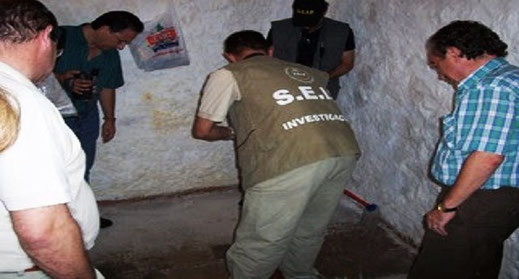 Une équipe d'investigation paranormal à Belmez de la Moradela