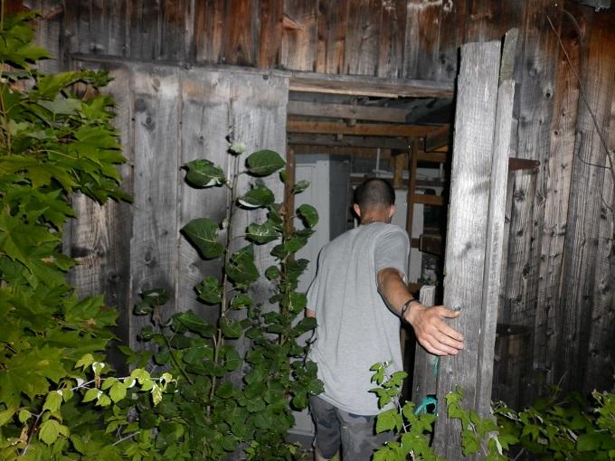 Ian enquêteuse du paranormal dans l'ancienne cabana à sucre