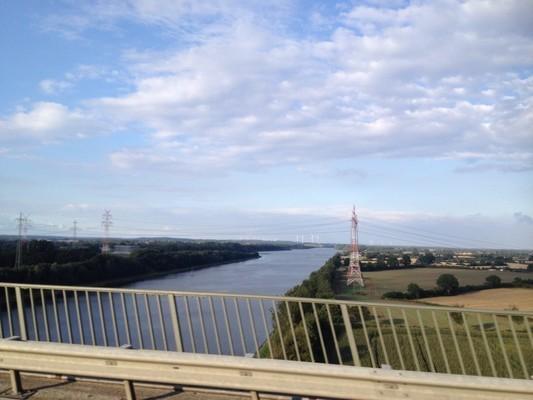 Nord-Ostsee-Kanal richtung ostsee
