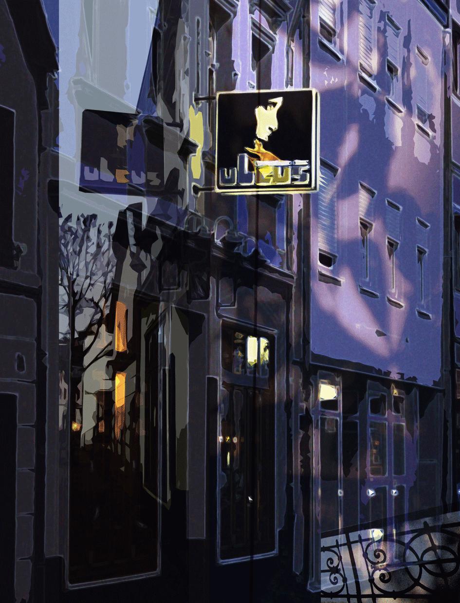 nachts / digitale Malerei