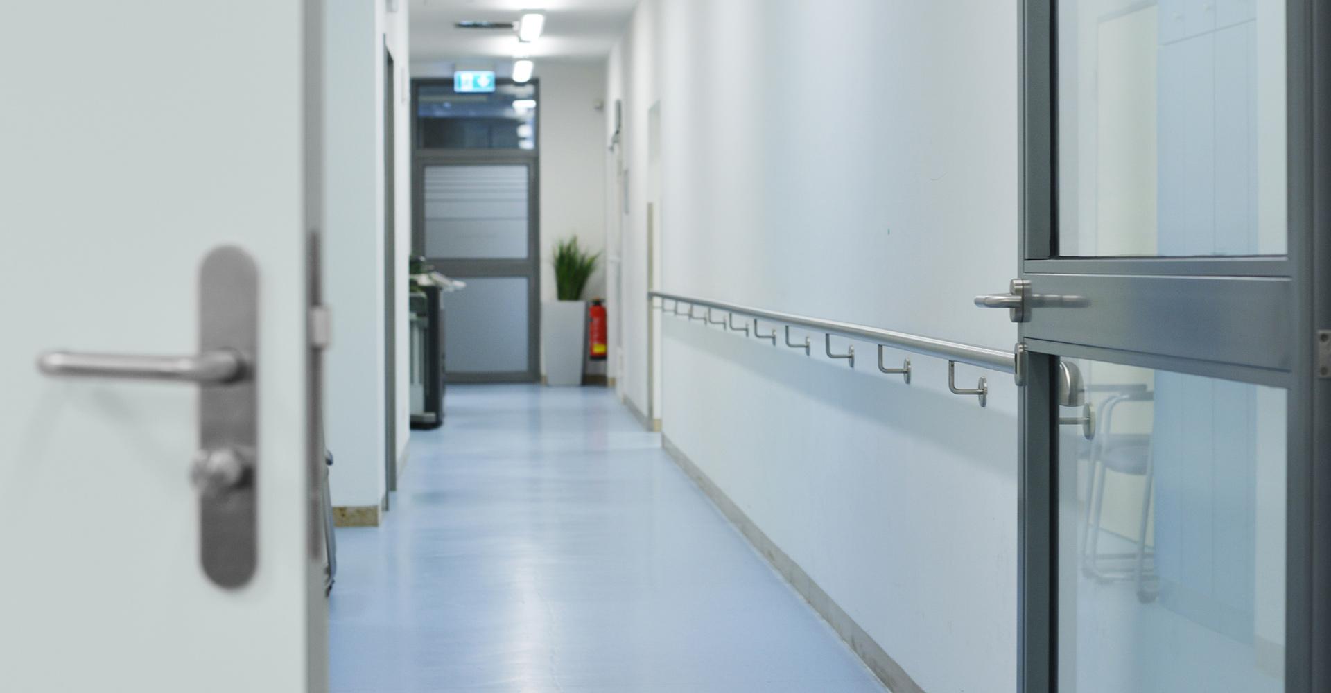 Öffentlicher Hygienebereich / Krankenhaus